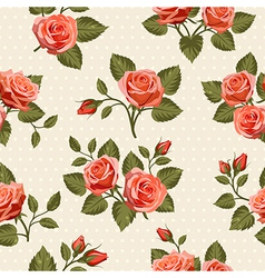 Seamless Floral pattern 6 vector image
