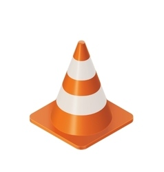 Traffic Cones Barrier vector image