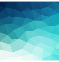 Abstract blue colorful geometric background vector image
