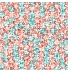abstract color swirl circle background vector image vector image