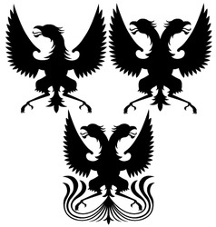 griffins design vector image vector image