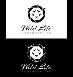 wild life logo vector image