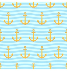 Anchors pattern vector image vector image
