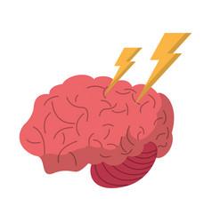 brain storm thinking creativity vector image