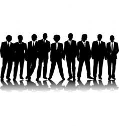office people vector image vector image