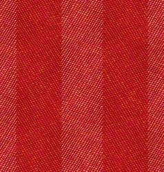 Seamless red crochet pattern vector