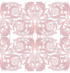 Baroque Luxury ornament pattern vector image