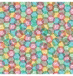 abstract color swirl circle background vector image