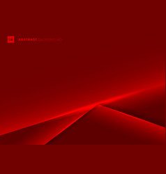 abstract template red frame layout metallic light vector image