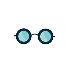 glasses accessory fashion trendy icon vector image