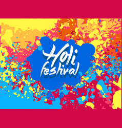 india festival of color vector image