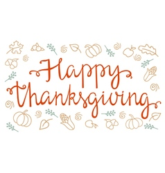 Quote happy thanksgiving vector