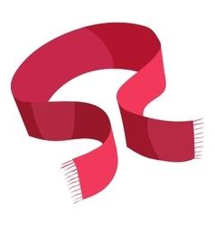 Scarf icon cartoon style vector image
