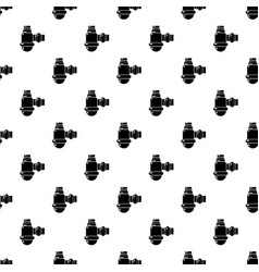 sewage siphon pattern seamless vector image
