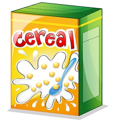 A cereal vector image