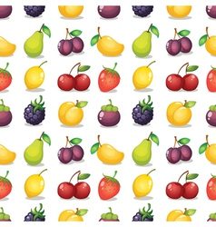 various fruits vector image vector image