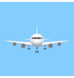 Airplane icon aviation vector image