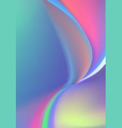 Beautiful polar light gradient background design vector