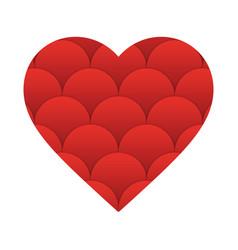 heart valentine icon vector image