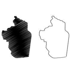 Riyadh region map vector