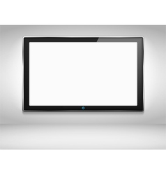 TV on the Wall vector image vector image