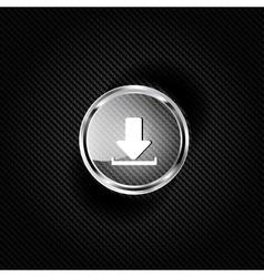 Download web icon vector image