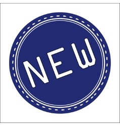 New Icon Badge Label or Sticke vector image vector image
