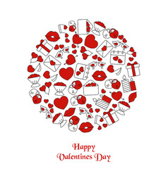 valentines day background valentines day vector image