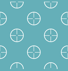 aim pattern seamless blue vector image