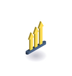 growth icon vector image