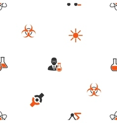 Science Seamless Flat Wallpaper vector