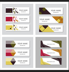 set of minimal covers design colorful halftone vector image