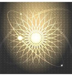 Solar wind vector