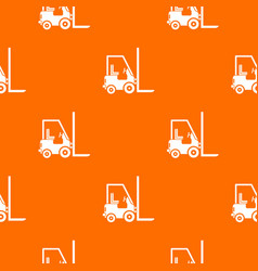 Stacker loader pattern seamless vector