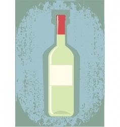 wine grunge vector image