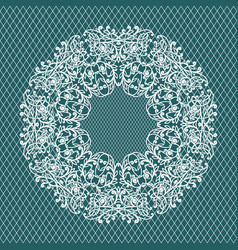 weddind ornament pattern vector image vector image