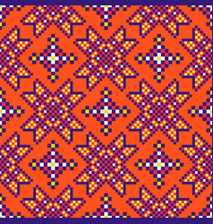 Abstract african ethnic seamless pattern tribal vector