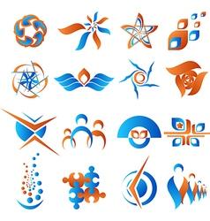 Design elements set 2 vector image