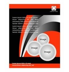Flyer design poster background Design layout vector