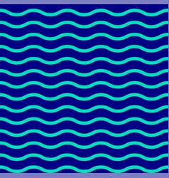 geometric texture seamless pattern blue azure sea vector image