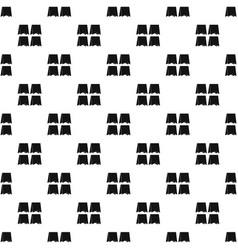 Pennants pattern vector