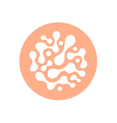 probiotics sign vector image