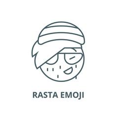 Emoji Rasta Emoticon Vector Images 12