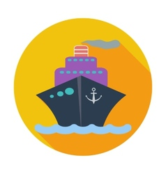 Ship icon vector image