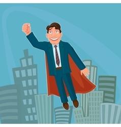 Superhero Businessman vector image