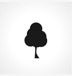 Tree icon simple icon isolated icon vector