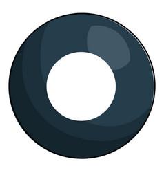 eight ball billiard icon vector image vector image