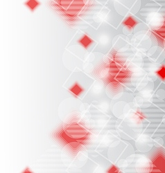 Futuristic set squares abstract background vector image