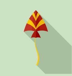 bird kite icon flat style vector image