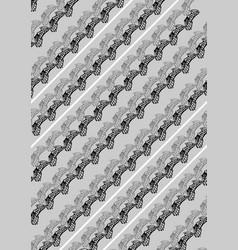 Butterfly wings pattern vector
